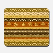 African Ethnic Pattern Mousepad