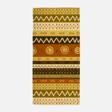 African Ethnic Pattern Beach Towel