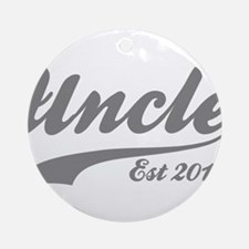 Uncle Est 2015 Round Ornament