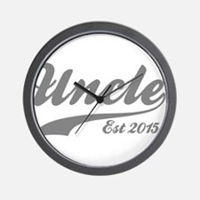 Uncle Est 2015 Wall Clock