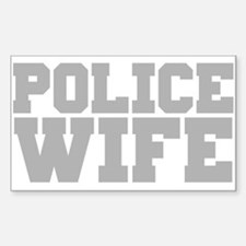 Police Wife Decal