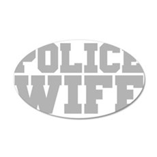 Police Wife Wall Decal