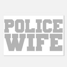 Police Wife Postcards (Package of 8)