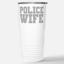 Police Wife Travel Mug