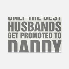 Only The Best Husbands Rectangle Magnet (10 pack)