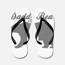 Daddy Bear Flip Flops