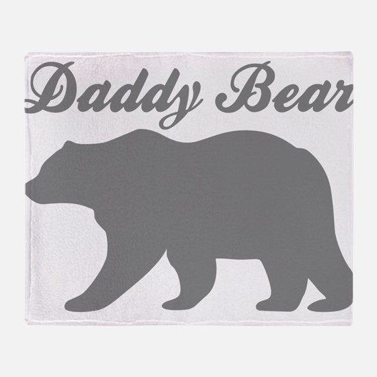 Daddy Bear Throw Blanket