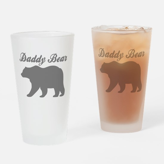 Daddy Bear Drinking Glass