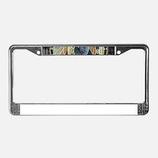 Cute Unusual License Plate Frame