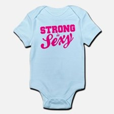 Strong Is Sexy Infant Bodysuit
