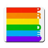 Gay Pride Rainbow Mousepad