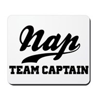 Nap Team Captain Mousepad