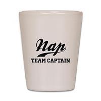 Nap Team Captain Shot Glass