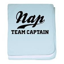 Nap Team Captain baby blanket