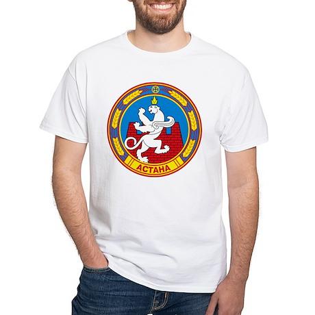 Astana Coat of Arms White T-Shirt