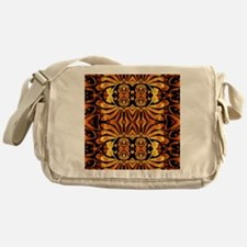 flames safari tribal pattern Messenger Bag