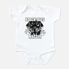 BLACK LABS MATTER 2 Infant Bodysuit