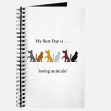 Best Day Cats and Dogs Gifts Journal