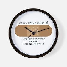 Have A Bandaid Wall Clock