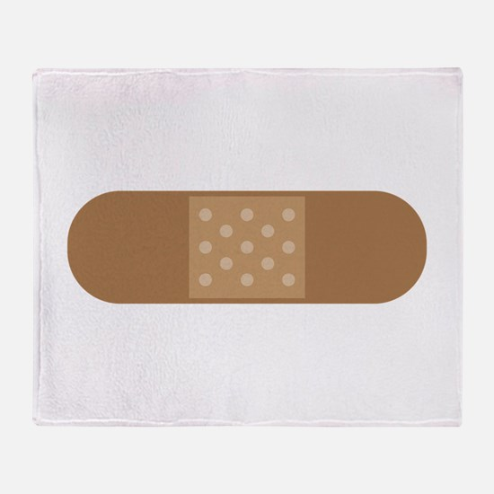 Band Aid Throw Blanket