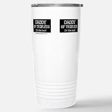Cool Father of triplets Travel Mug