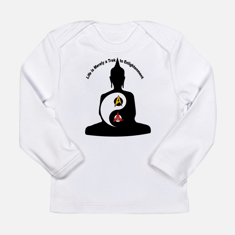 Life is Merely a Trek to Enlightenment Long Sleeve
