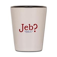 Jeb Bush 2016 Parody Shot Glass