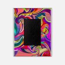 Groovy Digital Pattern Picture Frame