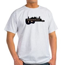 Nashville Guitar Skyline T-Shirt