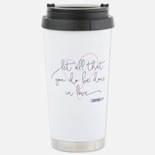 Done in Love Stainless Steel Travel Mug