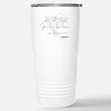 Done in Love Travel Mug