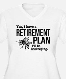 Beekeeping Retirement Plus Size T-Shirt