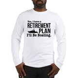 Boating Long Sleeve T Shirts