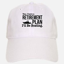 Boating Retirement Baseball Baseball Cap