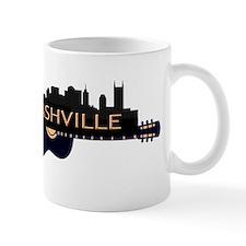 Nashville Guitar Skyline Mugs