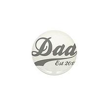 Dad Est 2015 Mini Button (10 pack)