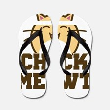 Check Meowt Flip Flops