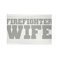 Firefighter Wife Rectangle Magnet