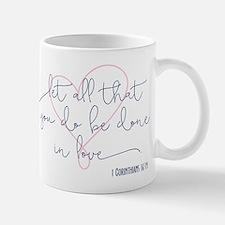 Done in Love Mugs