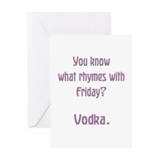Rhymes with Friday Greeting Cards