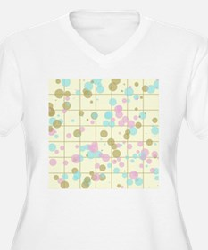 Spotted geometric pattern Plus Size T-Shirt
