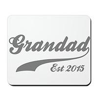 Grandad Est 2015 Mousepad