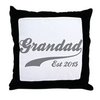 Grandad Est 2015 Throw Pillow
