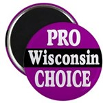 Wisconsin Pro-Choice Magnet