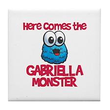 Gabriella Monster Tile Coaster