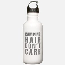 Camping Hair Don't Car Water Bottle