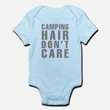 Camping Hair Don't Care Infant Bodysuit