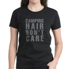 Camping Hair Don't Care Tee