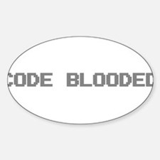 Code Blooded Decal