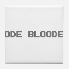 Code Blooded Tile Coaster
